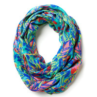 Lilly Pulitzer Riley Infinity Loop Scarf - Good Reef
