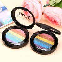 Makeup Cosmetic Highlighter 6 Color Shimmer Powder Contour Eyeshadow Blush