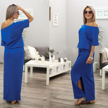 Women Summer Sexy Maxi Dress BOHO Dress