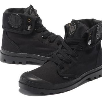 Palladium Baggy Women Turn High Boots Black