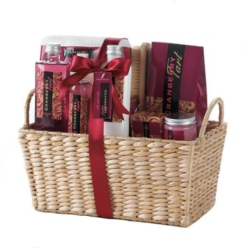 Cranberry Tart Spa Set