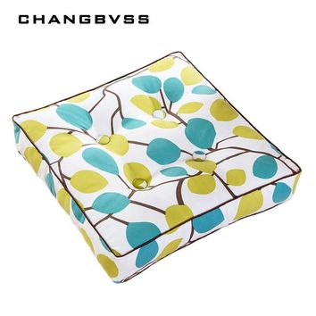 Square Meditation Cushion Chair Pillow For Office Break Pad Simple Pattern Tatami Mat Soft Sofa Back Pad Thicken 3 Size almofada