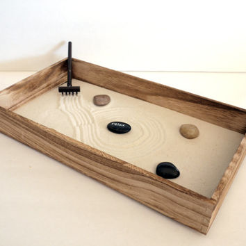 wooden home decor zen garden relax wood garden decor wood cent