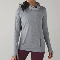 Lululemon High Necked Long Sleeve Sport Tunic Shirt Top Blouse