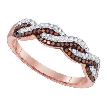 Diamond Micro-pave Ring in 10k Gold 0.25 ctw