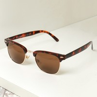 Crystal Club Sunglasses Tortoise