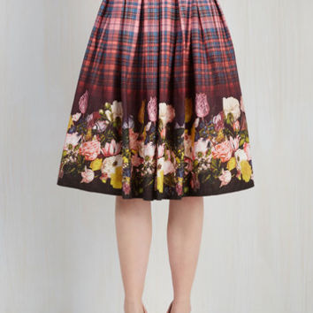 Vintage Inspired Long Full Mix and Matchless Skirt