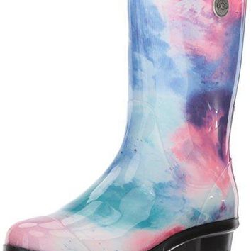 UGG Women's Sienna Watercolor Rain Boot UGG boots women