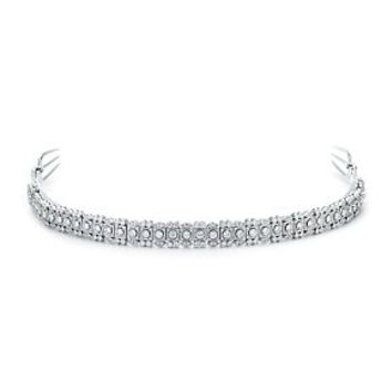 Tiffany & Co. -  Diamond tiara in platinum.