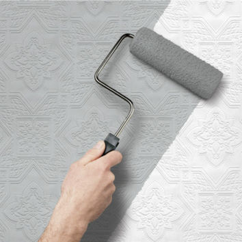 Allen + Roth allen + roth Peelable Vinyl Prepasted Paintable Wallpaper from Lowe's | BHG.com Shop