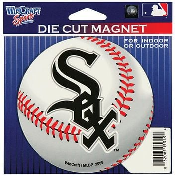 Chicago White Sox - Baseball Logo In/Out Magnet