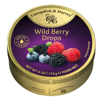 Cavendish & Harvey Wild Berry Candy Drops, 5.3 oz