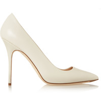 J.Crew - Savile leather pumps