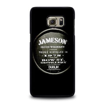 jameson whiskey samsung galaxy s6 edge plus case cover  number 1