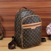 LV Women Bag Shoulder School Bag Backpack