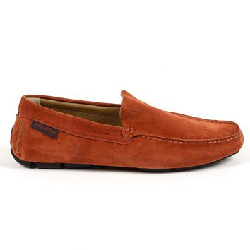 Andrew Charles Mens Loafer Brown Tron