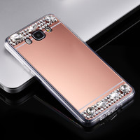 For Samsung J7 S7 Edge Case Diamond Glitter Mirror Case For Samsung Galaxy S7 S7 Edge A3 A310 A5 A510 A7 A710 J7 J710 J5 2016