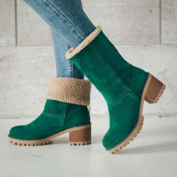 Autumn and winter fashion warm women's snow boots  [4258849620065]