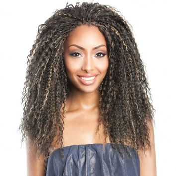Isis Caribbean Bundle Braid - Brazilian Curl (Final Sale)