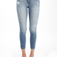 Lizzie Light Wash Ankle Skinny Jeans