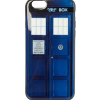 Doctor Who TARDIS iPhone 6 Case