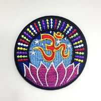 Om Lotus Yoga Patch