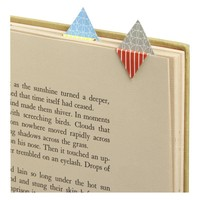 Origami Book Marks Set of Five in Back to School | Crate&Barrel