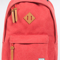 HERSCHEL SUPPLY The Woodlands Backpack in Washed Red Canvas : Karmaloop.com - Global Concrete Culture