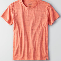 AEO Flex Crew T-Shirt, Bright Neon Red
