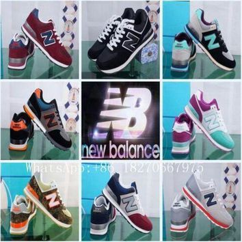 DCCK1IN 2017 spring unisex zapatos new casual balanceds 574 men women new casual balanceds men women fashion shoes size 36 44 ba111