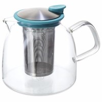 Glass Teapot with Stainless Steel Infuser-  68, 43, 24 and 14 Oz capacities