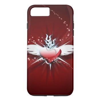Artistic Heart iPhone 8 Plus/7 Plus Case