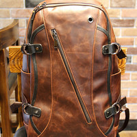 New women/men Leather Backpack ,shoulder bag, Leather messenger bags, Leather Student bag,weekend bag,Leather briefcase,laptop bag