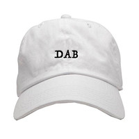 Any Memes Dab Dad Hat In White