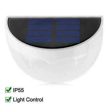 Waterproof IP55 LED Solar Lamp Power Garden LED Solar Light Outdoor Wall Solar Power Lamp For Garden Decoration