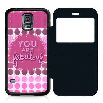 You Are Fabulous Flip Samsung Galaxy S5 Case