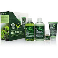 The Body Shop Tea Tree 4-Piece Facial Skin-Care Kit Ulta.com - Cosmetics, Fragrance, Salon and Beauty Gifts