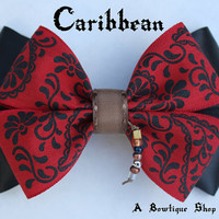 caribbean hair bow