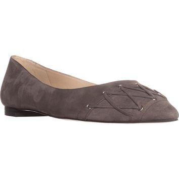 Nine West Alyssum Ballet Flats, Dark Grey, 6 US
