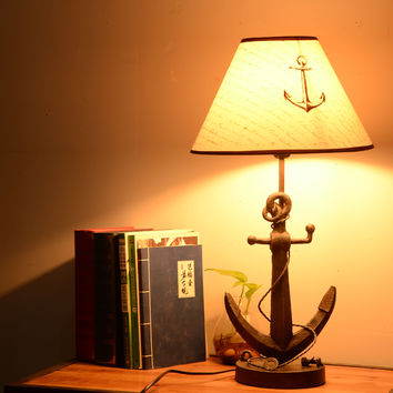 Mediterranean Sea Style Creative Strong Character Home Lamp [6282982790]