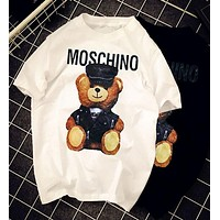 Moschino Bear Fashion Women T Shirt-2