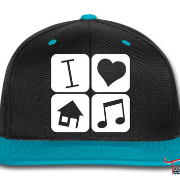 i love house music Snapback