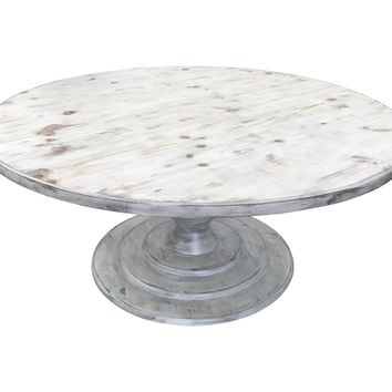 Round Distressed Lanette Table
