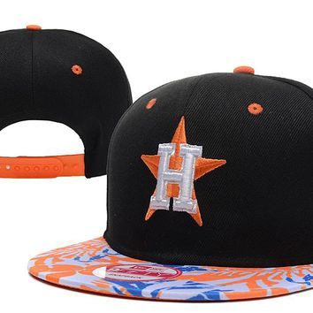 Houston Astros New Era 9FIFTY MLB Baseball Cap Black