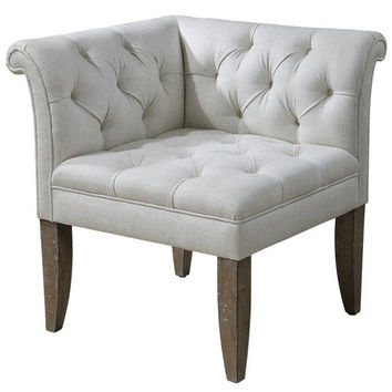 Uttermost Tahtesa Corner Chair - 23125