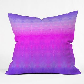 Rebecca Allen Safely Softly Sweetly Throw Pillow