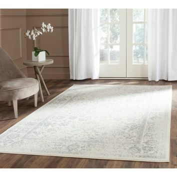 Safavieh Adirondack Ivory/ Silver Rug (8' x 10') | Overstock.com Shopping - The Best Deals on 7x9 - 10x14 Rugs
