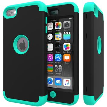 3in1 Heavy Duty High Impact Armor Case Cover Protective Case for Apple iPhone X 7 7 Plus 6 6s Plus 5 5s SE 5c iPod touch 5 6th G