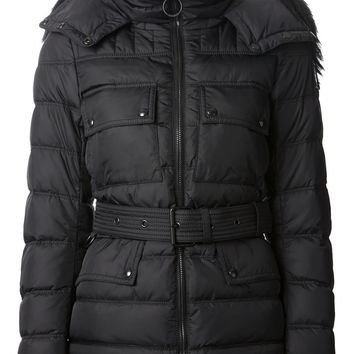 Belstaff fur hood padded jacket