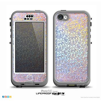 The Colorful Confetti Glitter Sparkle Skin for the iPhone 5c nüüd LifeProof Case